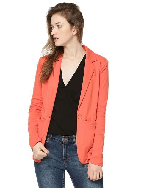 Cape Blazer Orange orange blazer for fashion ql