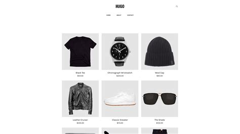 weebly ecommerce templates hugo cleanlines 2 weebly ecommerce template