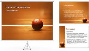 Basketball Powerpoint Templates by Basketball Nba Powerpoint Template Backgrounds Id