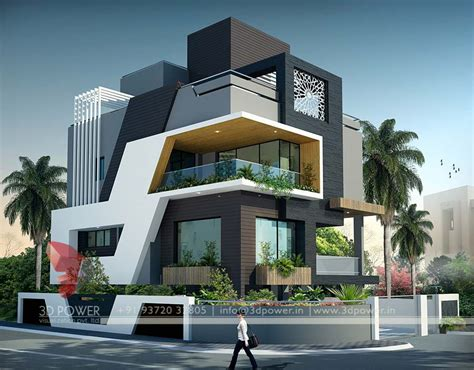 house design ideas 3d bungalow design rendering contemporary bungalow design