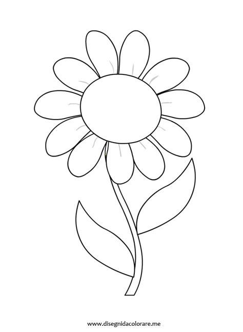 fiore disegno disegno margherita disegni da colorare