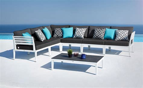 outdoor lounge furniture modern modern outdoor lounge furniture set joins oceanweave