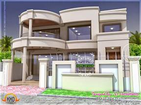 Stylish Indian Home Design And Free Floor Plan Home