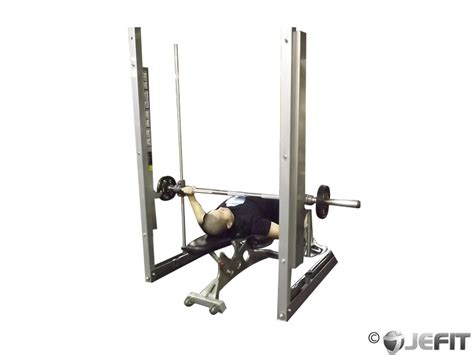bench press with smith machine smith machine wide grip bench press exercise database