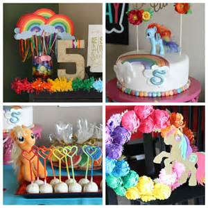 kara s party ideas my little pony rainbow dash birthday party
