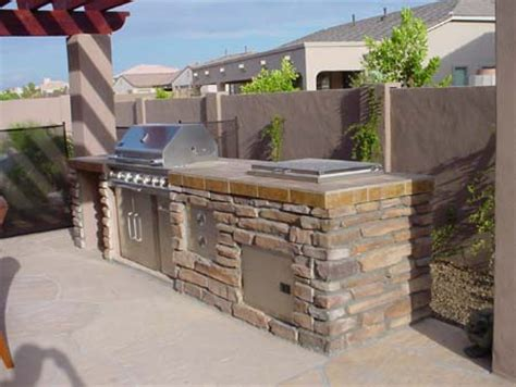 Patio Stone Tile by Built In Bbq Grills Patio Design For Outdoor Living
