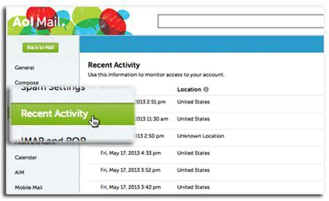 aol mail login screen