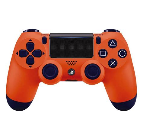 ps4 controller orange light sony ps4 dualshock wireless controller sunset orange