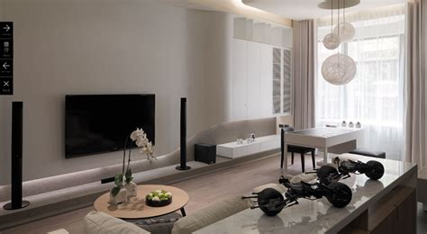 White Modern Living Room by White Modern Living Room 2 Interior Design Ideas