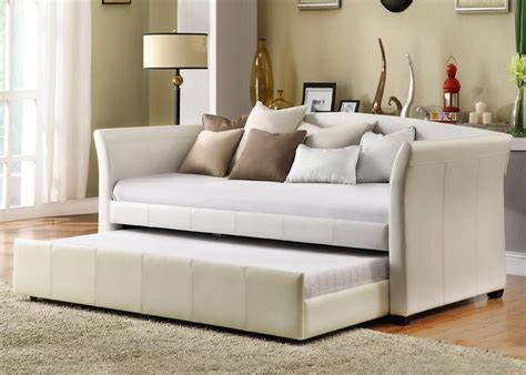 sofa with pull out trundle good things come in threes day dreaming donovan daybed
