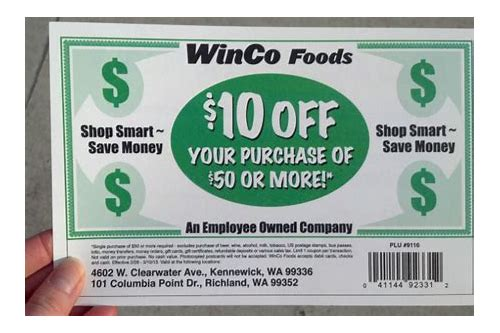 winco coupons september 2018