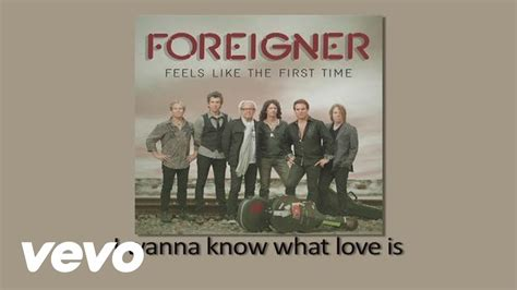 film foreigner i want to know what love is foreigner i want to know what love is official lyric