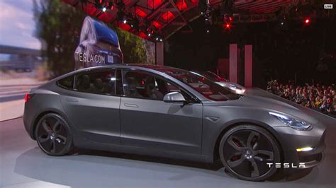 tesla model 3 gray tesla announces model 3 an all electric sedan for the masses