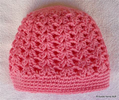 simple pattern matching free crochet pattern perfect pink shells cap great lacy