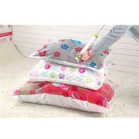 Bag Penyimpan Pakaian wenbo vacuum plastic storage kantong penyimpan pakaian