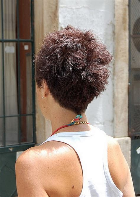 sexy hot back views of pixie hair cuts pixie haircuts from the back