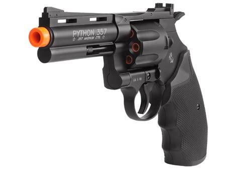 Airsoft Gun Colt Python Colt Python 357 Co2 Airsoft Revolver 4 Black 6