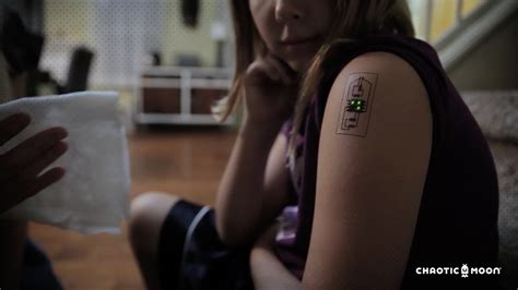 technology tattoos temp tech tattoos can monitor your health and location