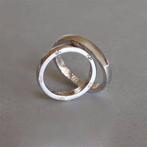 Wei Gold Hochzeitsringe by Klenota Gold Hochzeitsringe Mit Diamanten Trauringe