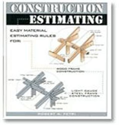 Ebooks On Construction Estimating And Management