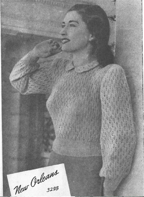 1940s knitting patterns the vintage pattern files 1940s knitting sun glo