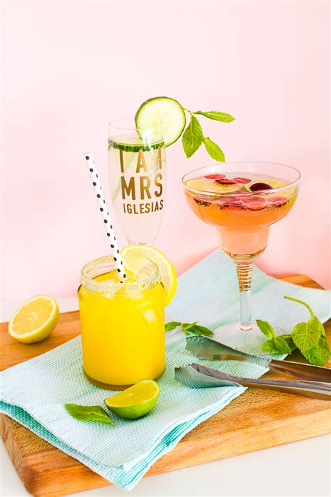 3 wedding reception cocktail welcome drinks recipes