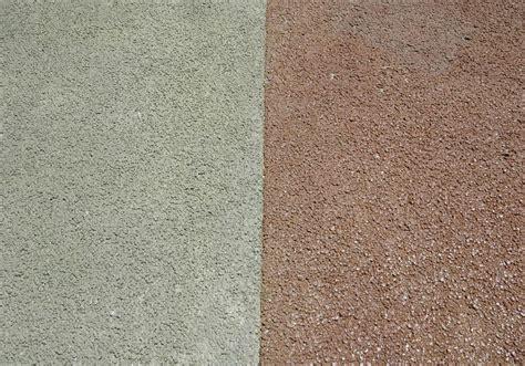 colored pervious concrete fits  bill concrete