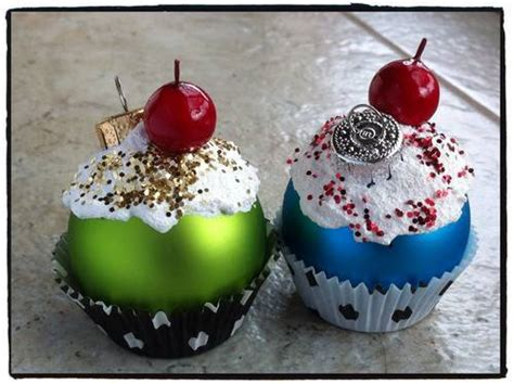 cupcake christmas tree decirations how to make cupcake ornaments www justmommies