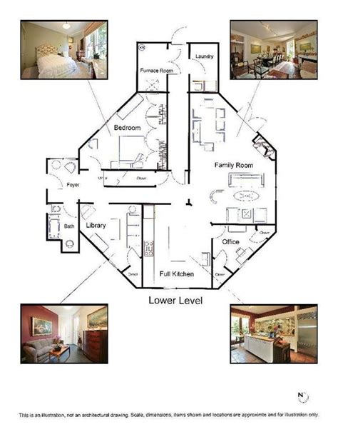 Octagon Floor Plans by Best 25 Octagon House Ideas On Yurt Living