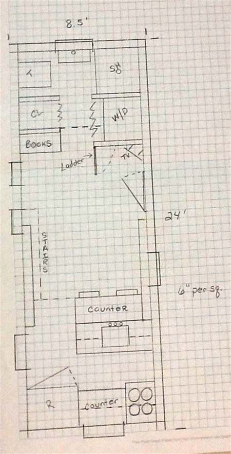 floor plan graph paper 195 best images about tiny house cottage on tiny house tiny house on wheels