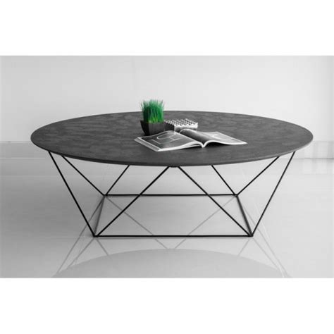 Table Basse Metal Noir