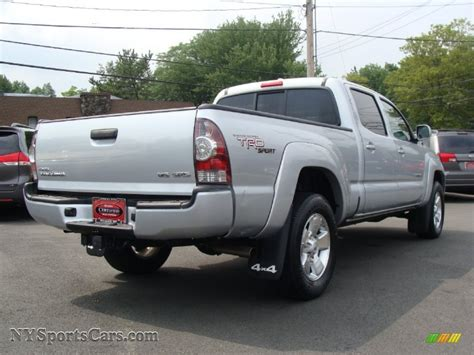 toyota tacoma silver 2009 toyota tacoma v6 trd sport double cab 4x4 in silver