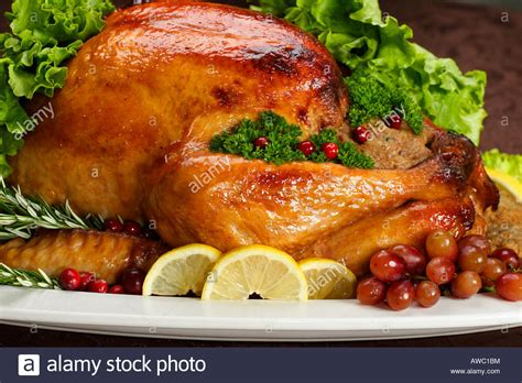 Turkey On The Table by Thanksgiving Day Dinner Plate With Turkey On The Table In