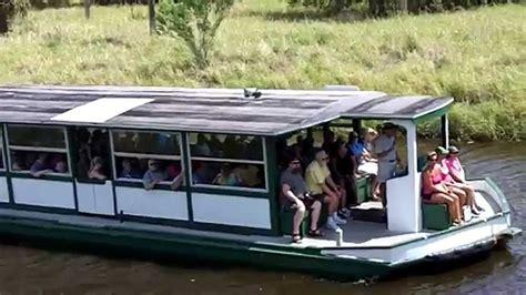 myakka river boat tour myakka state park alligator tour boat ride youtube