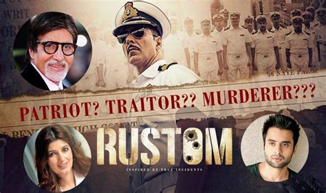 biography of rustom movie rustom movie review amitabh bachchan twinkle khanna