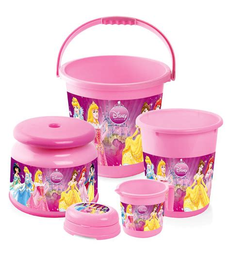 Disney Bathroom Sets by Joyo Disney Kid S Special Bathroom Set Princess 5 Pcs