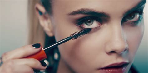 Mascara A cara delevingne s rimmel mascara ad was pulled in the u k