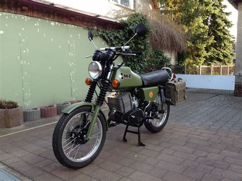 Mz Motorrad Bundeswehr by Mz Etz 250 Nva Armee Baujahr 1984 Restauriert 2016