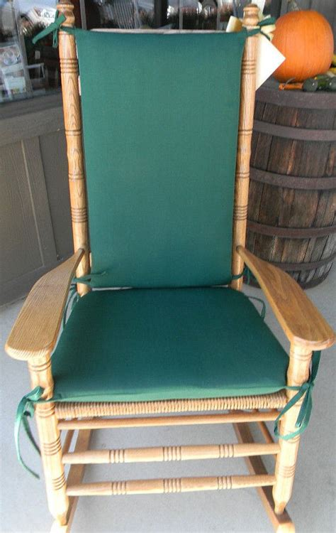 Cracker Barrel Chair Cushions indoor outdoor rocking chair cushions fits cracker barrel rocker choose fabric solids