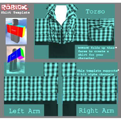 Plaid Jacket Template Shirt Roblox Roblox Shirt Design Template