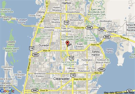 map of clearwater florida map of howard johnson inn and suites clearwater fl palm harbor