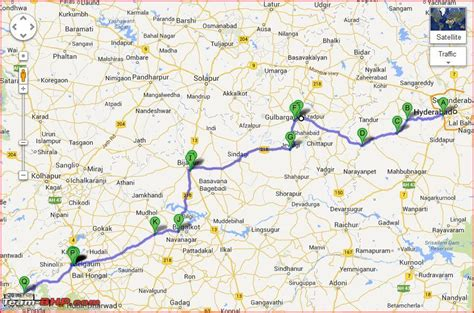 road map from mapusa to belgaum hyderabad goa route queries page 43 team bhp
