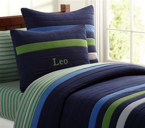 pottery barn boys bedding leo quilted bedding pottery barn kids the boys rooms