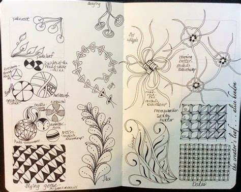 zentangle pattern guide 290 best zentangle patterns images on pinterest tangle