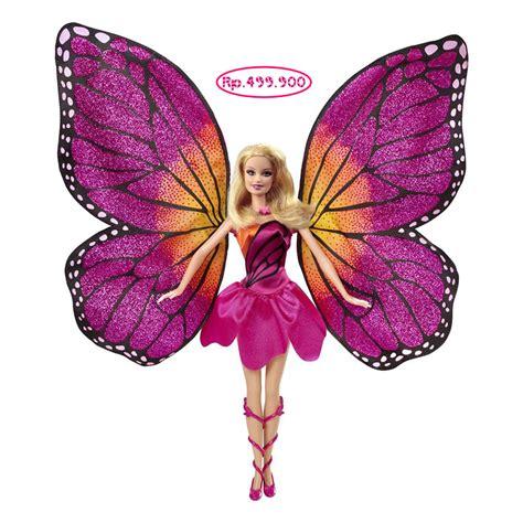 Berbie Sayap Kupu Kupu mariposa jual mattel
