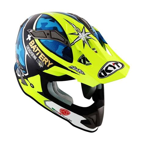 Helm Kyt Supercross Jual Kyt Strike Eagle Aleix Espargaro Helm Motocross