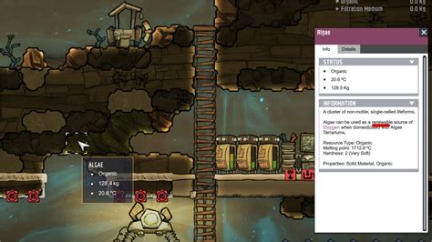 How To Start In Oxygen Not Included Algae Detox Cader by Oxygen Not Included Jpg