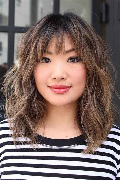 Hairstyles With Bangs For Medium Hair by Best 25 Medium Hairstyles With Bangs Ideas On