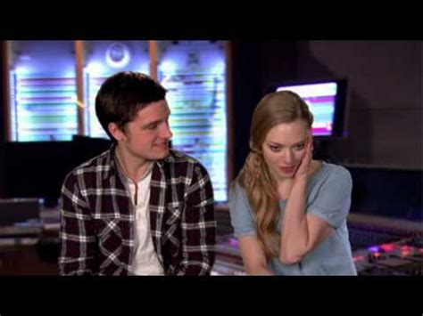 amanda seyfried movies and tv shows amanda seyfried and josh hutcherson quot epic quot interview youtube