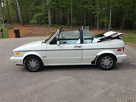 volkswagen cabriolet  sale cary north carolina